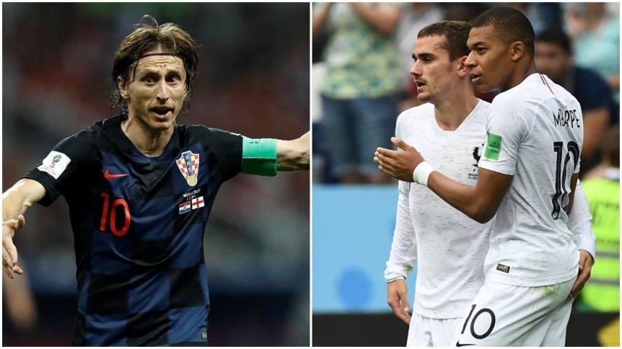 Modric, Mbappé e Griezmann: candidatos a craque da Copa do Mundo 2018.  (Foto: AFP e Jonathan Campos, enviado especial/Gazeta do Povo)