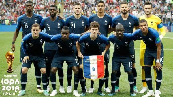 Baixe e compartilhe o pôster da França, campeã da Copa do Mundo 2018