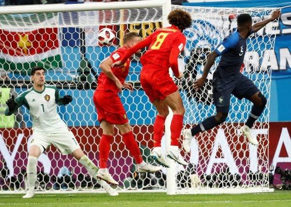 Gol de bola parada na Copa do Mundo 2018. Jonathan Campos/Gazeta do Povo, enviado especial à Rússia