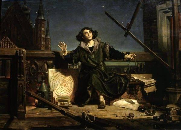 Um astrônomo revolucionário que só publicou sua teoria perto da morte, para que a Inquisição não o pegasse? Certamente não foi o caso de Nicolau Copérnico. (Imagem: Reprodução)