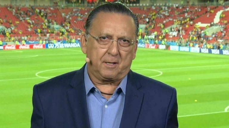 Galvão Bueno diz que Copa do Mundo não resolveria problemas do país