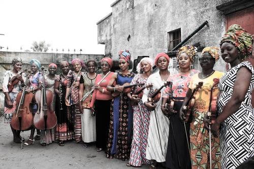Coragem,paixão e dignidade: o Ensemble feminino do Congo