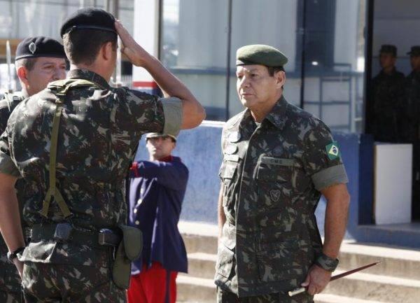 General Hamilton Mourão, o vice de Bolsonaro. Crédito da foto : Aniele Nascimento