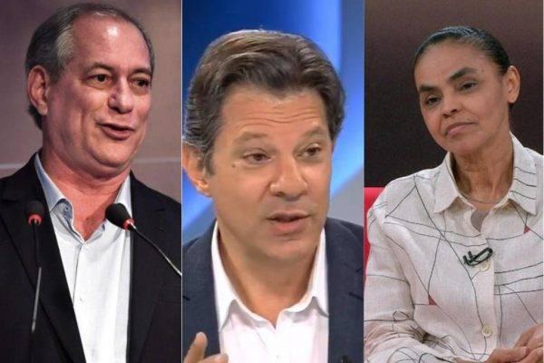 Se Bolsonaro está mesmo no 2.º turno, três nomes brigam pela outra vaga