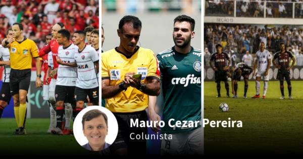 Arbitragem do futebol brasileiro deixa a desejar