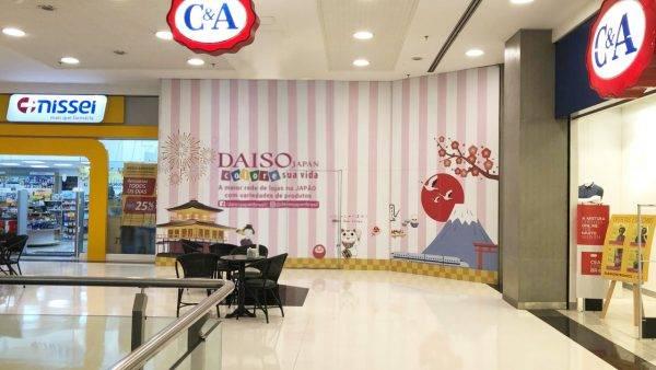 loja da Daiso Japan no Shopping Curitiba