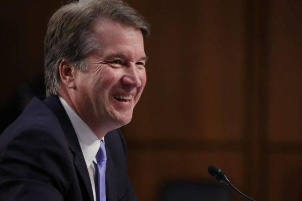 Brett Kavanaugh, o mais novo membro da Suprema Corte americana, indicado por Donald Trump. Foto: Chip Somodevilla/AFP