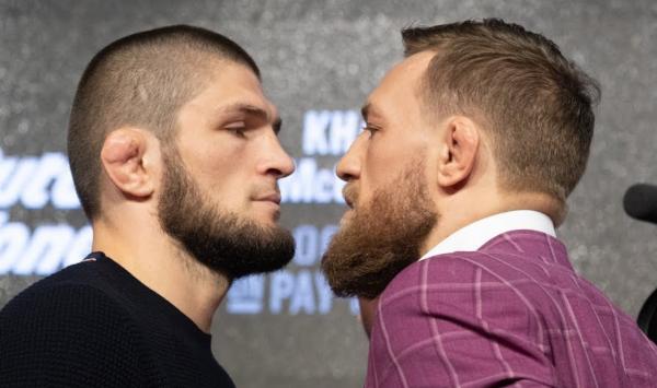 Khabib Nurmagomedov e Conor McGregor lutam pelo cinturão peso-leve do UFC