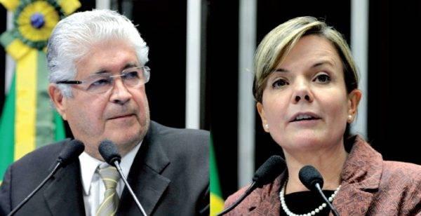 Roberto Requião e Gleisi Hoffmann estão entre os piores congressistas do Brasil no Ranking dos Políticos