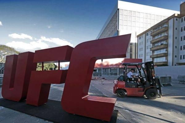 UFC Curitiba em 2019 terá nomes de impacto para lotar Arena da Baixada