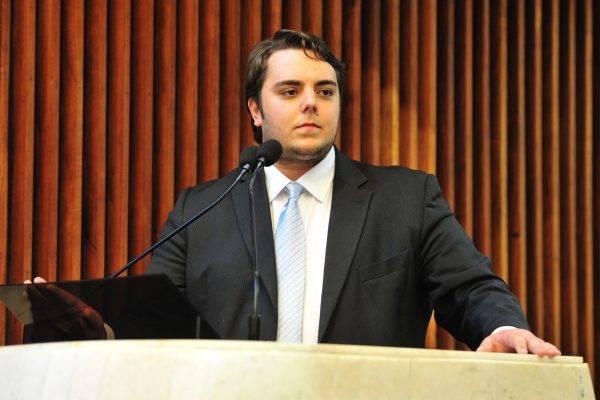 Eleito em 2014 para uma cadeira de deputado estadual, Felipe Francischini (PSL) agora cumprirá mandato em Brasília, na Câmara dos Deputados. Foto: Pedro de Oliveira/Alep