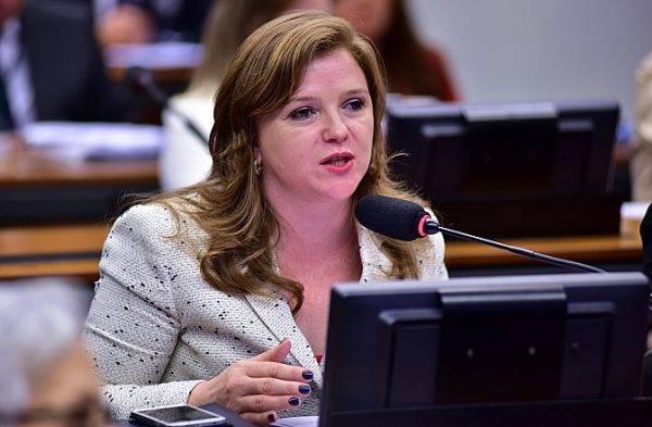 Deputada federal Leandre Dal Ponte (PV-PR). Foto: Zeca Ribeiro/Arquivo Câmara dos Deputados