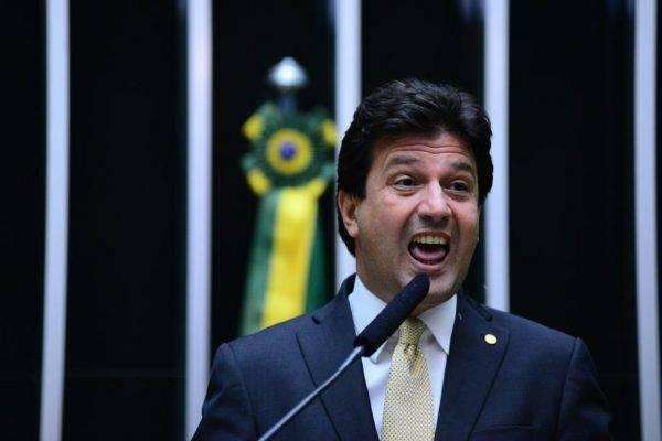 O deputado federal Luiz Henrique Mandetta (DEM-MS), indicado para o Ministério da Saúde de Jair Bolsonaro. Foto: Nilson Bastian/Agência Câmara