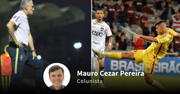 Tite e o polêmico uniforme amarelo do Atlético-PR. Montagem com fotos de Lucas Figueiredo/CBF e Denis Ferreira Netto/Gazeta do Povo