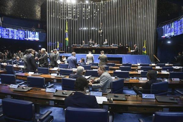 Sessão plenária. Foto: Jefferson Rudy/Agência Senado