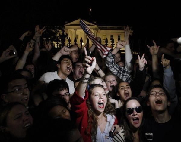 Manifestação em frente à Casa Branca em maio de 2011.  Foto: REUTERS/Jason Reed