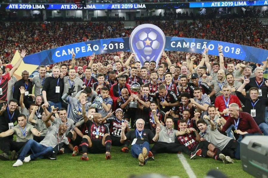 Athletico campeão da Sul-Americana 2018