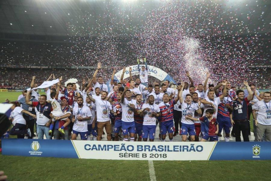 Fortaleza foi o campeão da Série B 2018.