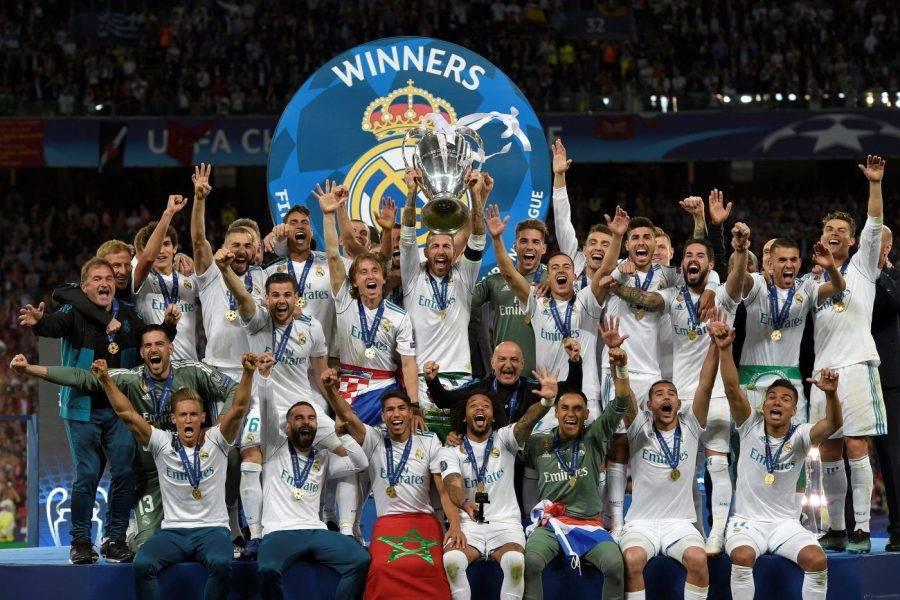 Real Madrid venceu a Champions em 2018