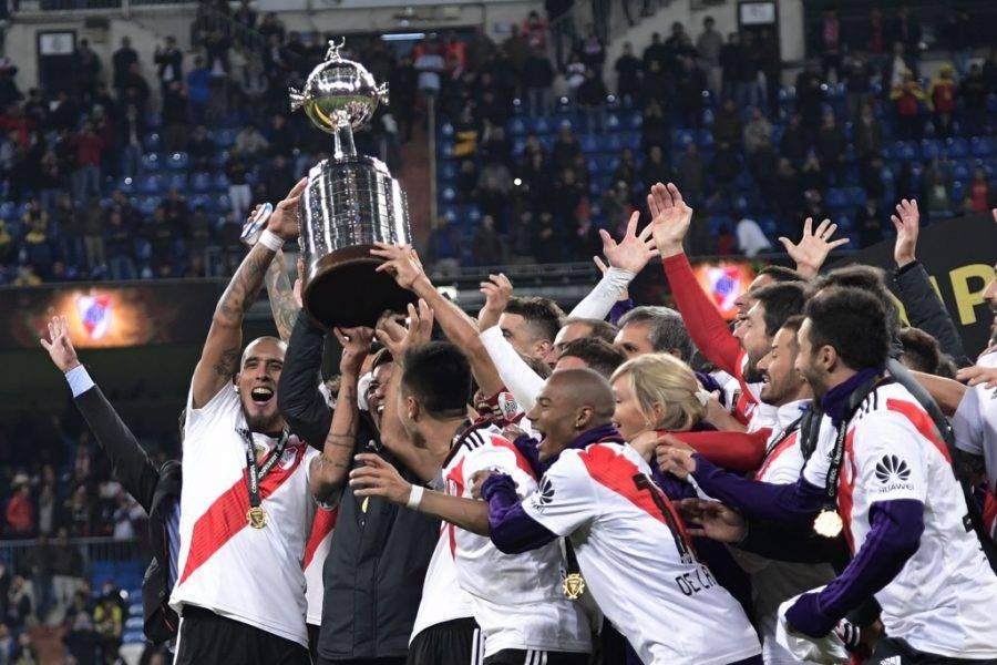 Rive Plate campeão da Libertadores 2018