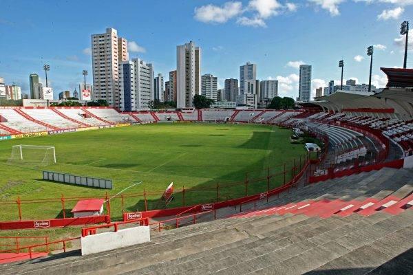 Foto de 2018 do Estádio dos Aflitos. Albari Rosa/Gazeta do Povo