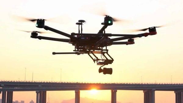 Primeiro transporte de rim usando um drone foi um sucesso nos Estados Unidos