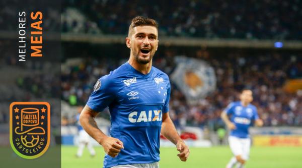 Arrascaeta, do Cruzeiro, foi o melhor meia do Cartola FC 2018. Foto: Vinnicius Silva/Cruzeiro.