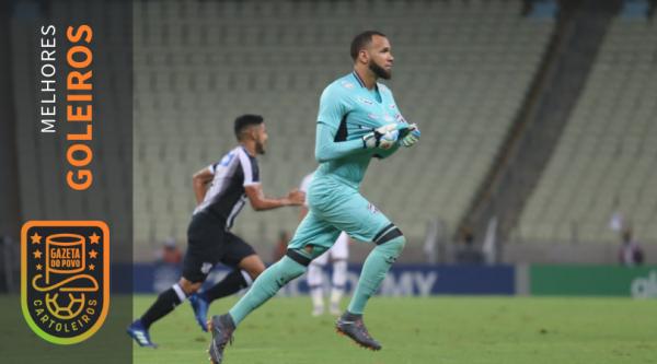 Éverson, do Ceará, foi o melhor goleiro do Cartola FC 2018. Foto: Lucas Moraes/cearasc.com