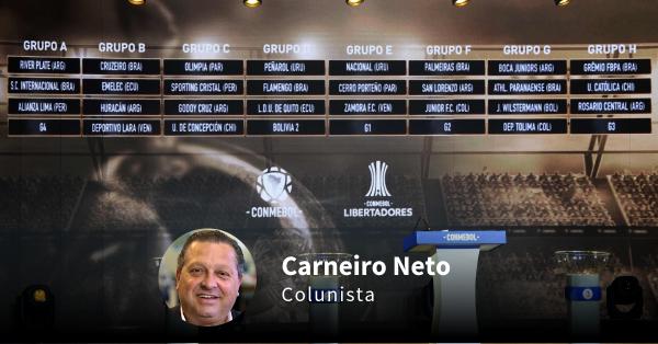 Carneiro Neto comenta o sorteio da Libertadores para o Athletico