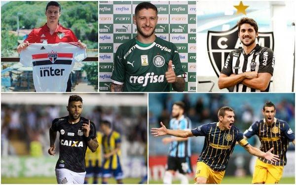 Selecionamos as melhores contratações do mercado da bola brasileiro.