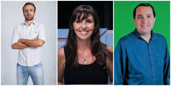 Glenda, Roger e Cereto são novidades em grade do SporTV para 2019.