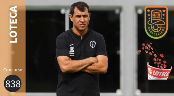 Clássico entre Corinthians e Palmeiras é destaque no concurso 838 da Loteca.