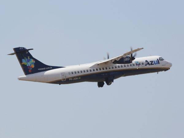 Novas rotas no Paraná levam aeronaves da Azul de Curitiba para Pato Branco e Toledo. Foto: Divulgação