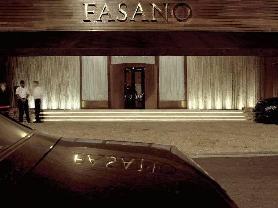 Fachada do Hotel Fasano em São Paulo. (crédito: divulgação).