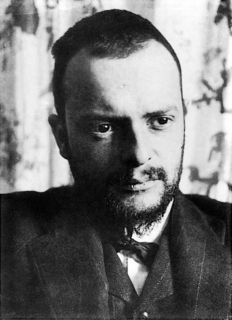 Paul Klee nasceu na Alemanha, mas morou a vida inteira na Suíça. (crédito: divulgação).
