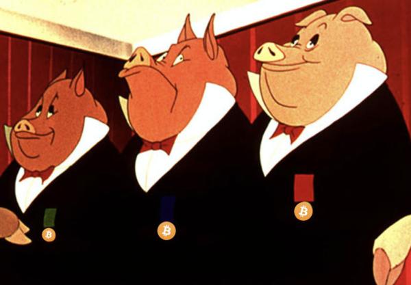 """Cena da animação """"Animal Farm"""", de 1954, baseada na obra de Orwell. Reprodução/Distributors Corporation of America"""