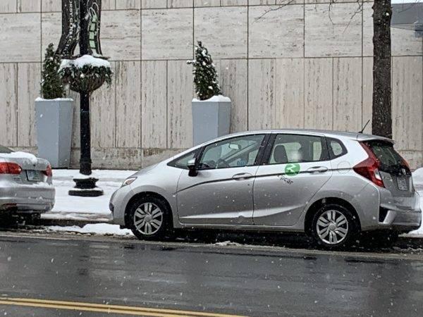 Zipcar oferece carros on demand em Washington. Foto: Tatiana Palermo