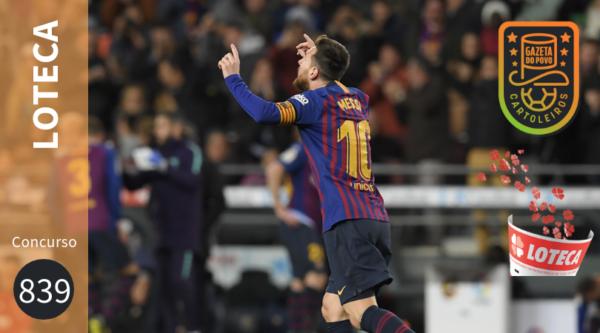 Jogo do Barcelona está no concurso 839 da Loteca. (Foto: Luis Gene/AFP)