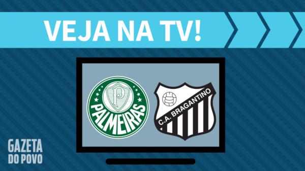 Palmeiras x Bragantino no Paulistão 2019.