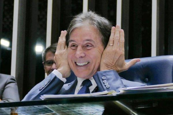 O ex-presidente do Senado Federal, Eunício Oliveira (MDB-CE), que encerrou seu mandato em janeiro de 2019. Foto: Roque Sá/Agência Senado