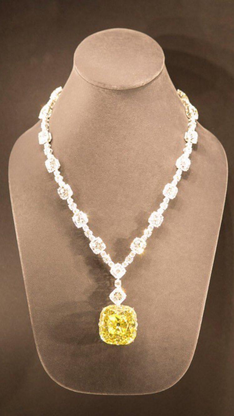 O Tiffany Yellow Diamond foi usado por apenas três pessoas na história. (crédito: reprodução/Getty Images).