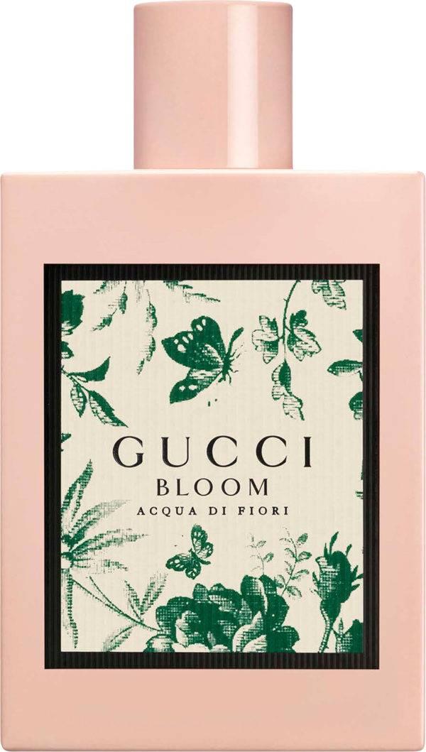O perfume Bloom Acqua di Fiori, disponível para a venda na loja do Pátio Batel. (crédito: divulgação)