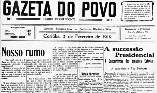 Pauta de 1919 ainda está atual