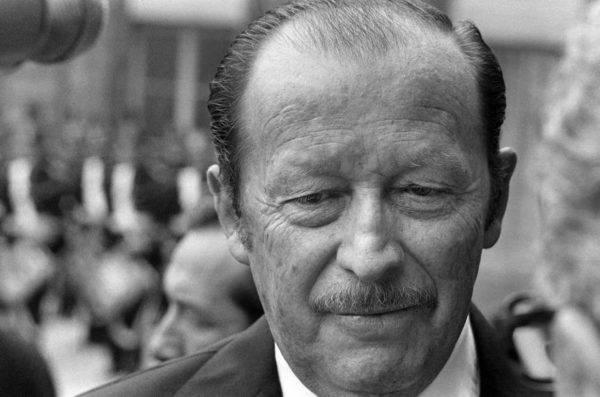 Alfredo Stroessner, em foto de julho de 1973, em Paris. Foto: AFP