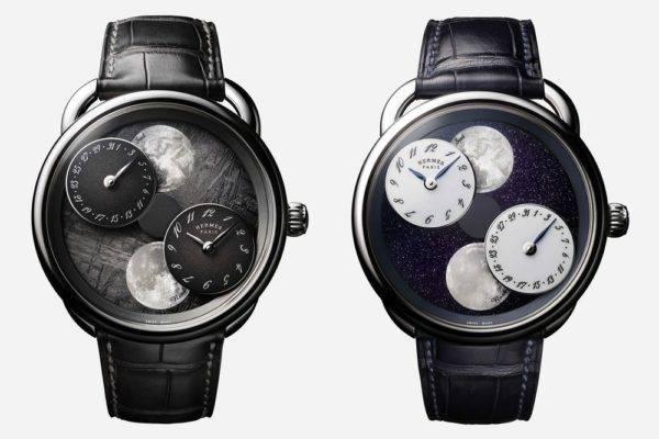 Conheça o novo relógio da Hermès que mostra as fases da Lua