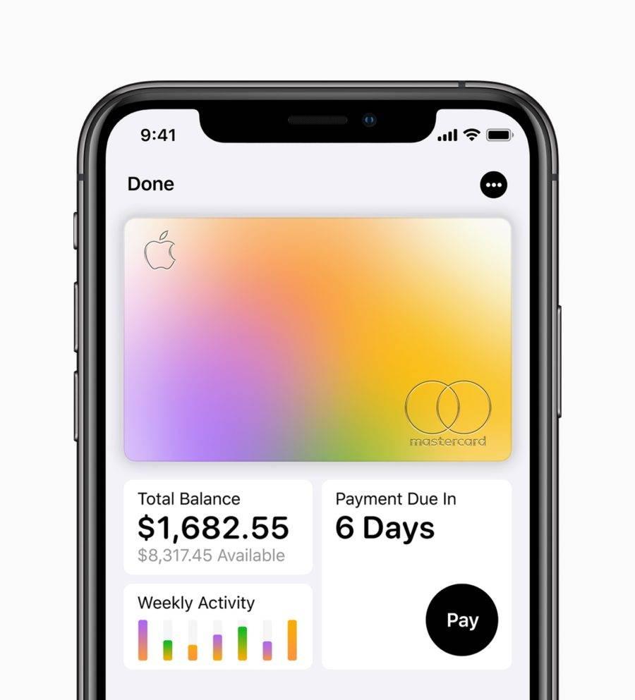 O Apple Card é criado em minutos diretamente pelo iPhone. (crédito: divulgação).