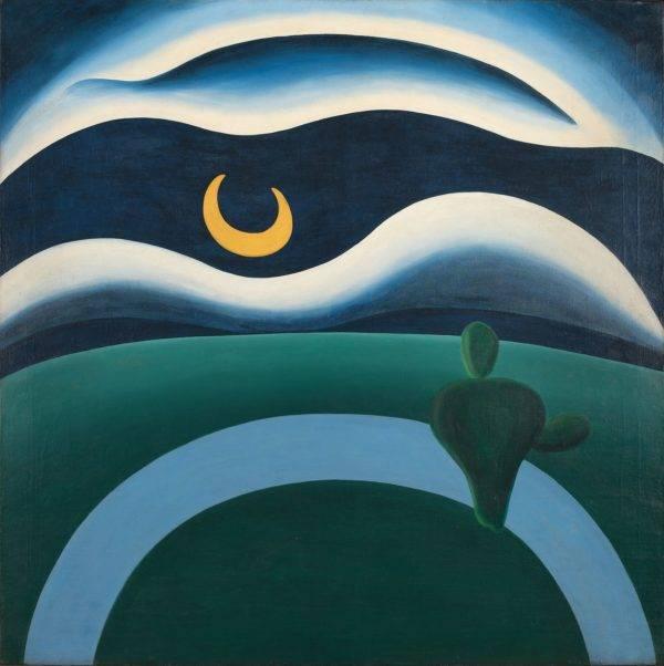 """'A Lua"""" era um dos quadros preferidos do escritor Oswald de Andrade."""