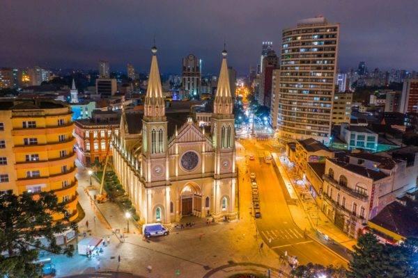 Catedral Basílica de Nossa Senhora da Luz dos Pinhais. Foto: Daniel Castellano / SMCS