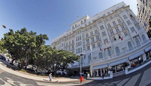 Belmond Copacabana Palace será a sede do evento de poker. Foto: Albari Rosa/Gazeta do Povo.