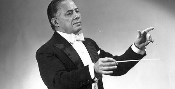 O maestro Eleazar de Carvalho
